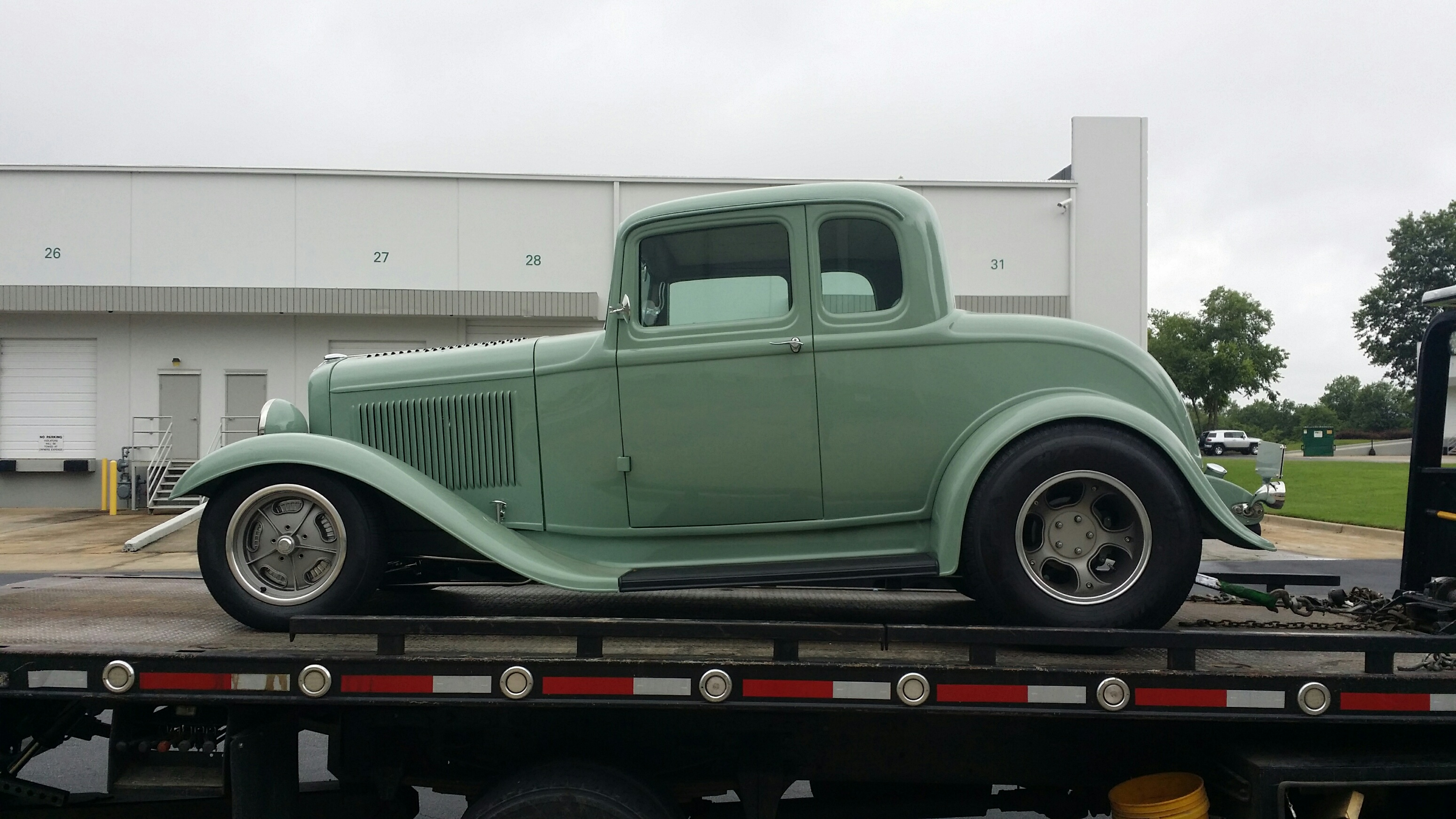 EAF Atlanta imports a 1932 Ford for an Exhibition of Antique cars