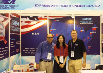 EAF attend recent freight conference in the far east