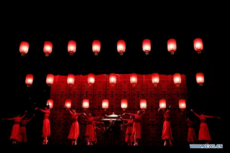 "Express Air Freight handled logistics as ""Raise the Red Lantern"" returned to Kennedy Center"